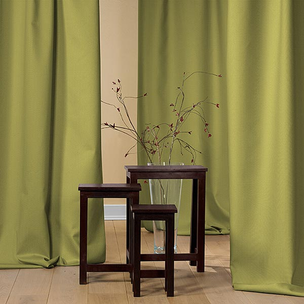 Tissu opaque – olive clair