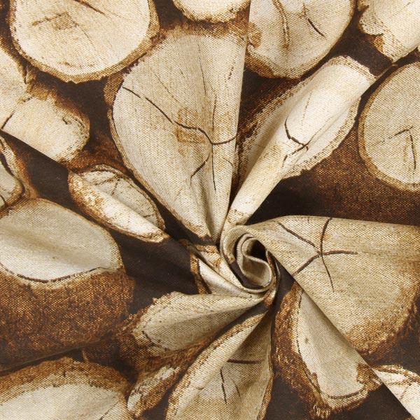 Tissu de décoration Troncs d'arbres