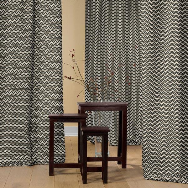 Tissu de décoration nature – Zigzag