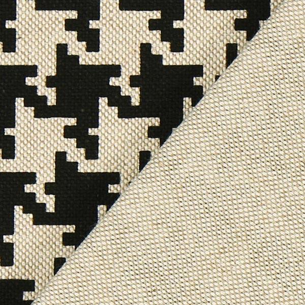 Tissu de décoration nature – Pied-de-poule