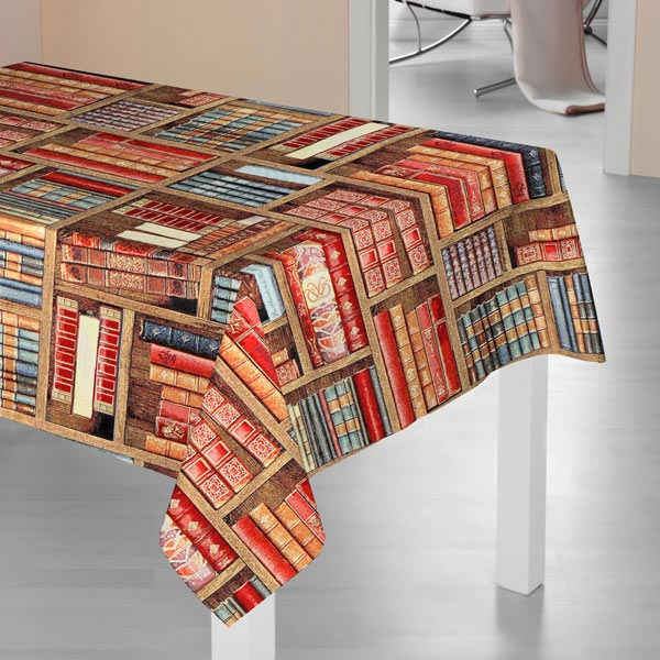 Jacquard Gobelin Bibliothèque – marron