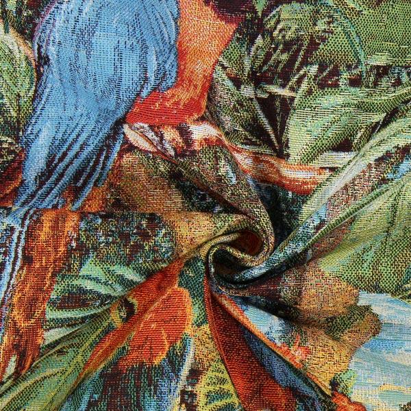 Jacquard Gobelin Paradis tropical – vert