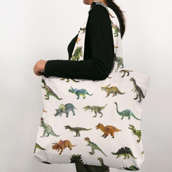 Semi-panama Dinosaures – écru