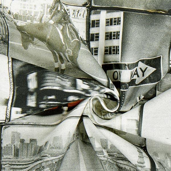Semi-panama Villes New York – gris