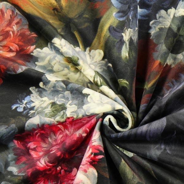 Velours Mer de fleurs mélange