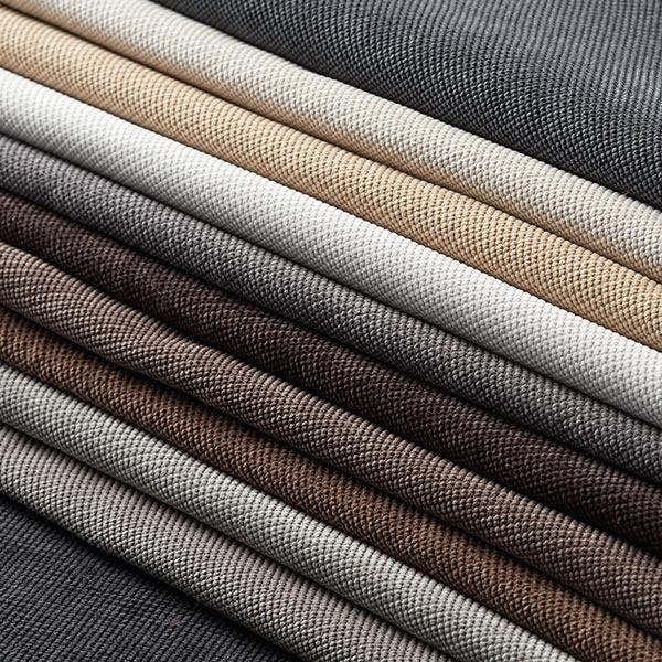 Tissu d'ameublement Brento – gris clair