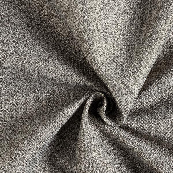 Tissu d'ameublement Como – gris foncé