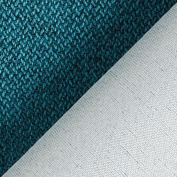 Tissu d'ameublement Como – turquoise