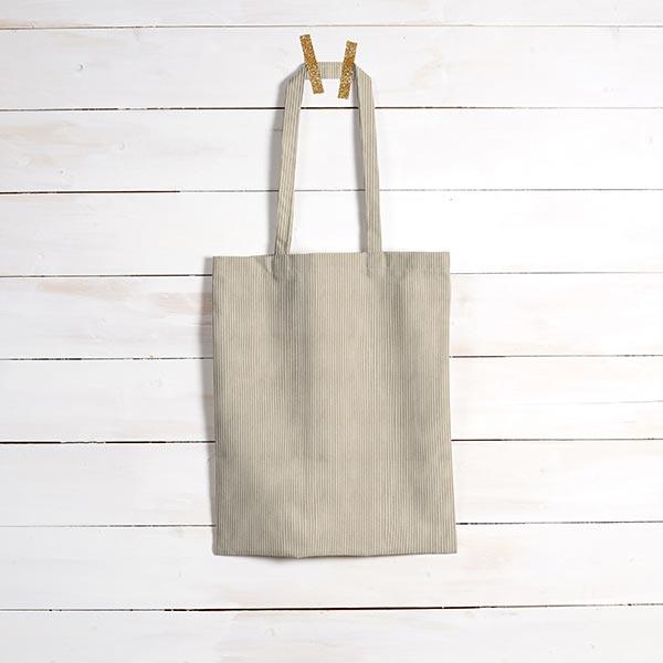 Tissu de revêtement aspect côtelé Fjord – beige