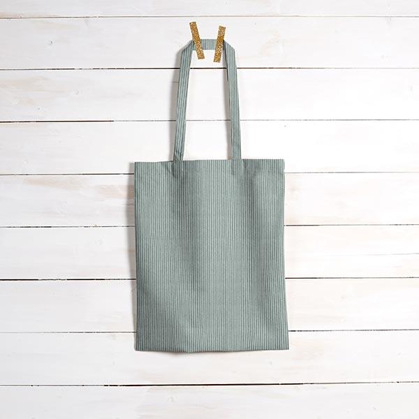 Tissu de revêtement aspect côtelé Fjord – vert menthe