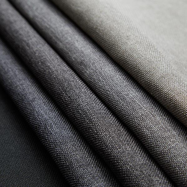 Tissu d'ameublement Savio – noir