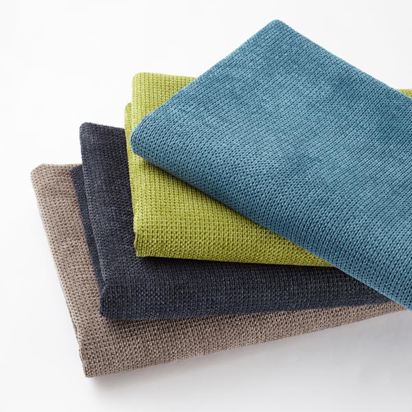 Tissu de revêtement Chenille – bleu