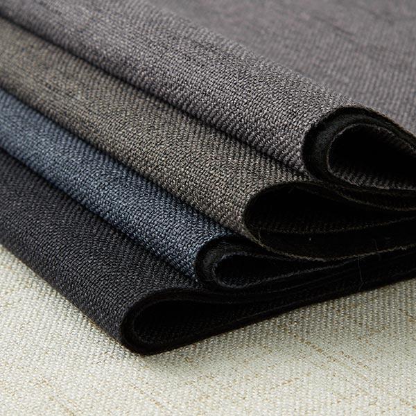 Tissu d'ameublement Yuca – gris bleu