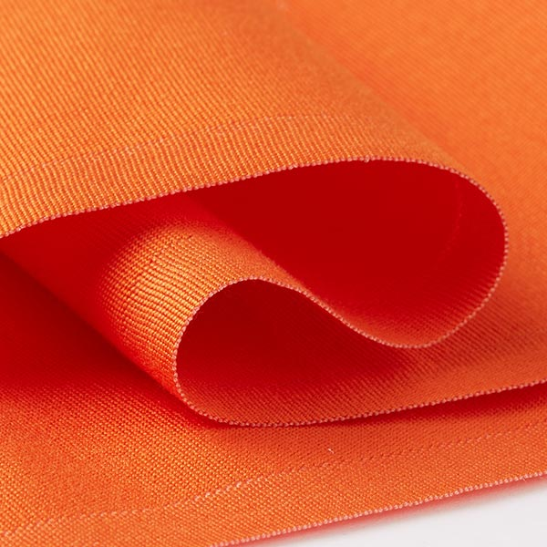 Extérieur Tissu pour chaise longue Uni, 44 cm – orange