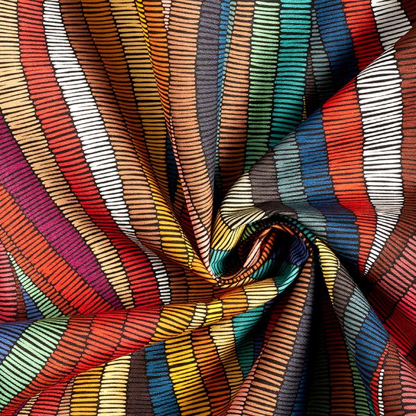 Tissu d'extérieur Ethno – orange