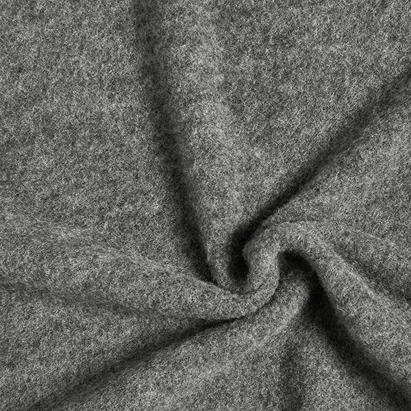 Polaire de laine mérinos kbT - laine biologique GOTS | Albstoffe – gris