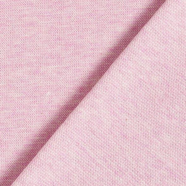 Albstoffe Bord-côtes coton GOTS – rosé