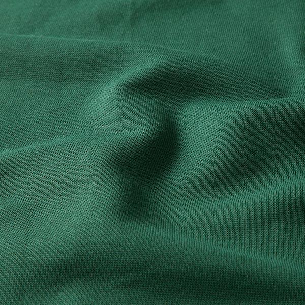 Bord-côtes coton GOTS – vert foncé | Albstoffe