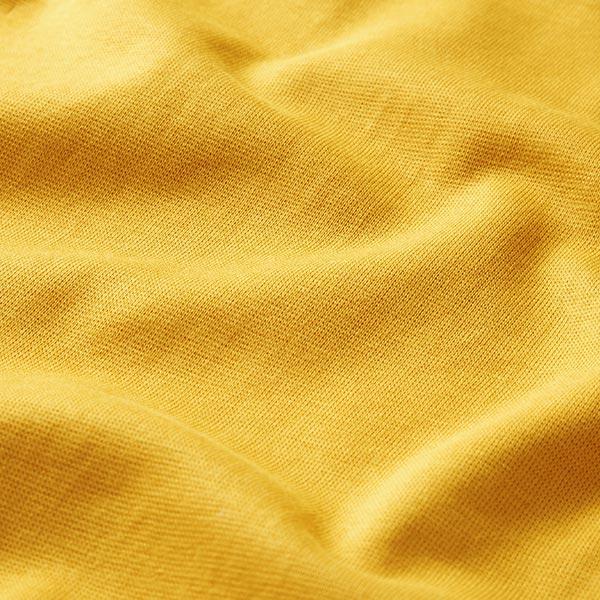 Bord-côtes coton GOTS – curry | Albstoffe