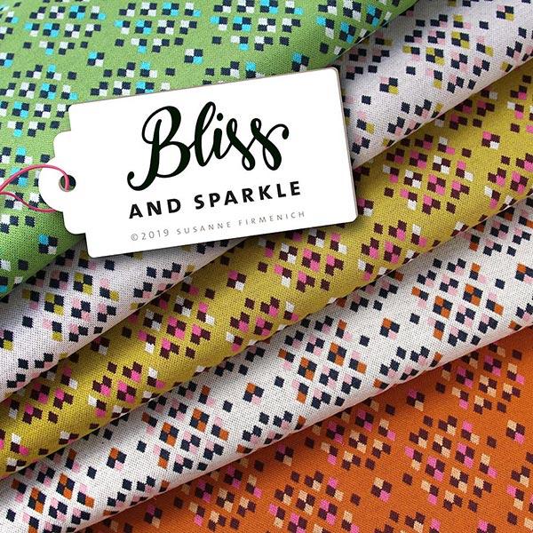 BLISS And Sparkle Jacquard Jersey GOTS – écru|Hamburger Liebe