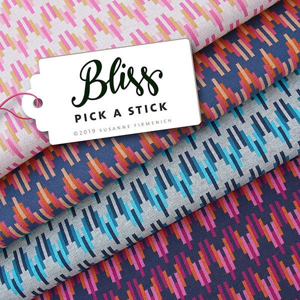 BLISS Pick a Stick Jacquard Jersey GOTS – gris clair|Hamburger Liebe
