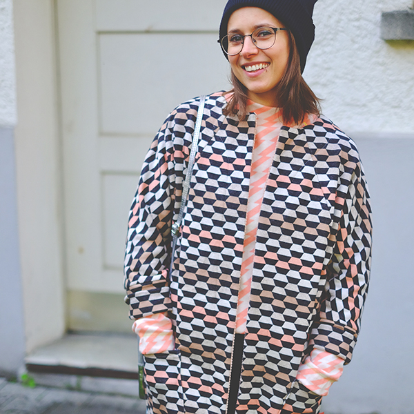 SWEET HOME Maille Jacquard Laid Back GOTS – nature | Albstoffe | Hamburger Liebe