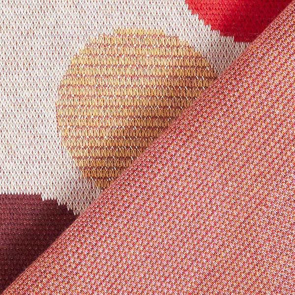 SHINE Strickjacquard Spot On mit Soft-Touch-Lurex – wollweiss | Albstoffe | Hamburger Liebe