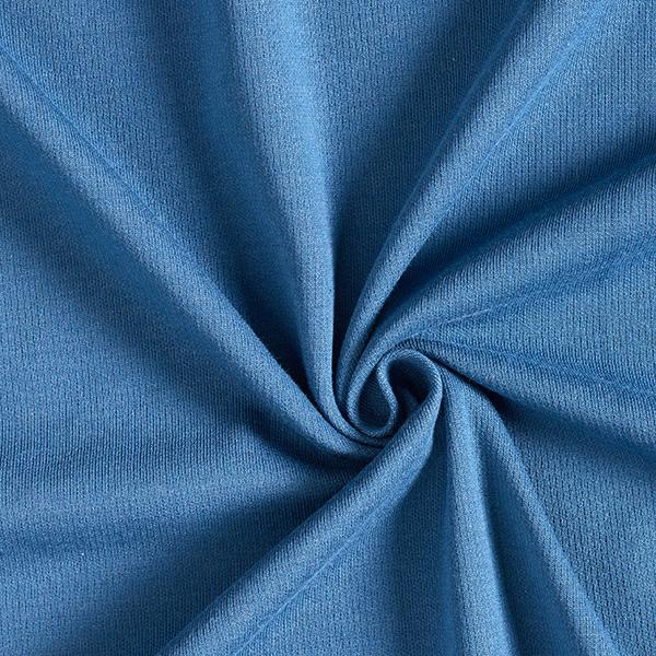 REMEMBER ME Doubleface Jersey uni Change Me GOTS – gris clair/bleu jean
