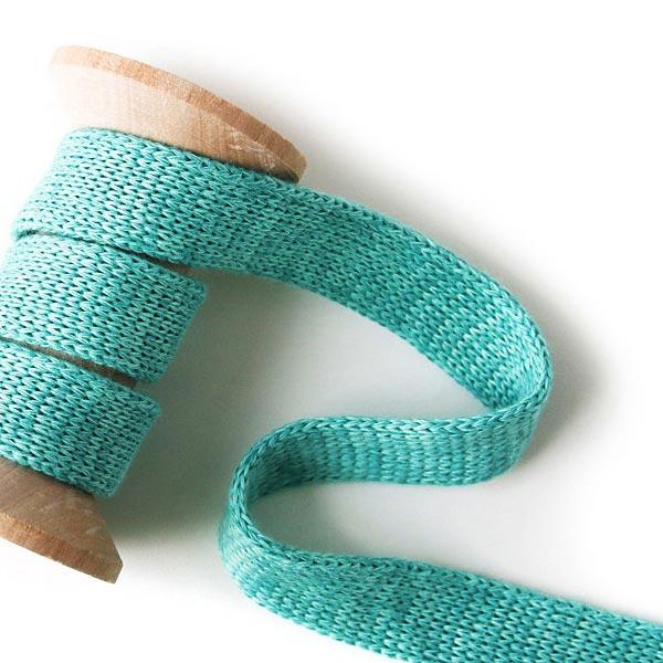 Cordon Hoodie Bio Cord Me Melange - turquoise| HAMBURGER LIEBE