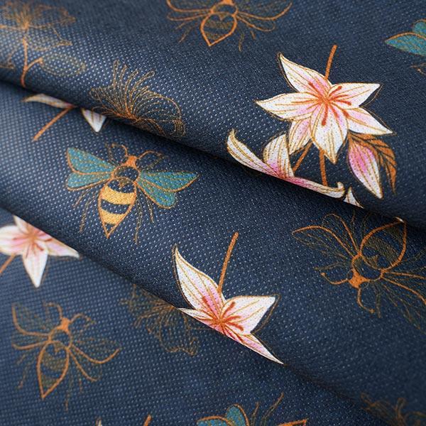 SHIELD CoverMe HEIQ Viroblock Glow Lily – marineblau   Albstoffe