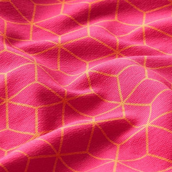 SAKURA Sweat Asanoha GOTS – pink | Albstoffe | Hamburger Liebe