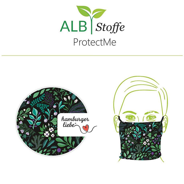 SHIELD PRO Antimikrobieller Jersey Safari – rosé/königsblau | Albstoffe