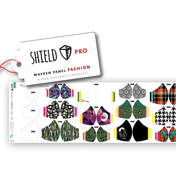 SHIELD PRO MASQUE Jersey antimicrobien Fashion rond | Albstoffe