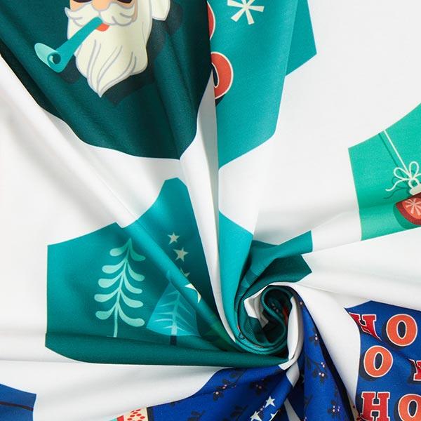 SHIELD PRO PANEL Antimikrobieller Jersey Christmas rund | Albstoffe