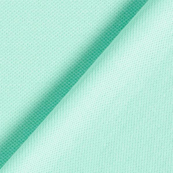 POLO ME Jersey piqué Uni GOTS – turquoise | Hamburger Liebe