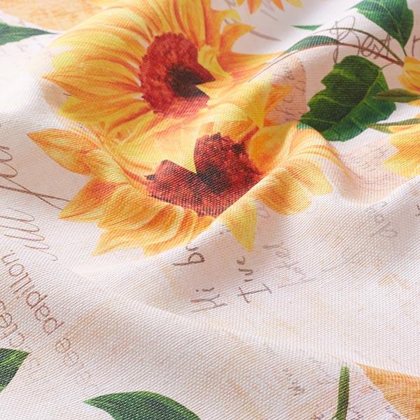 Dekostoff Panama Sonnenblume 280 cm – beige