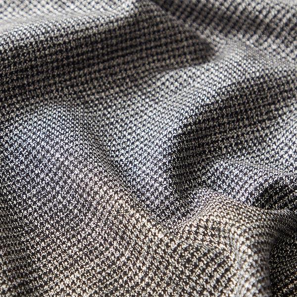 Tissu de costume Laine vierge Mélangé – noir