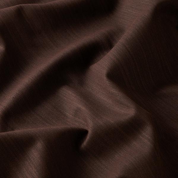 Stretch pour pantalon Sergé coton Uni – marron rouge