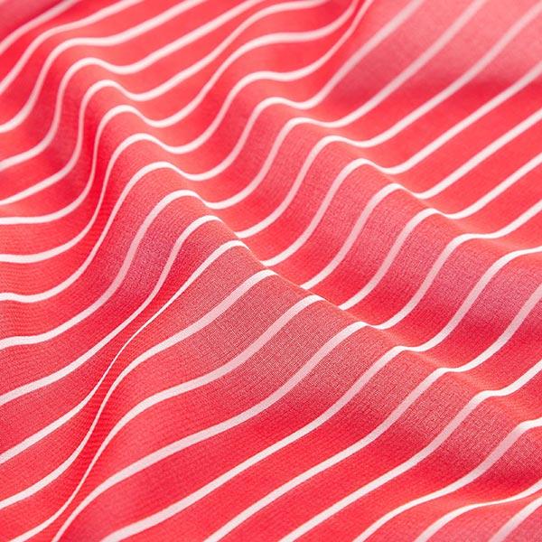 Chiffon Rayures maritimes – rouge