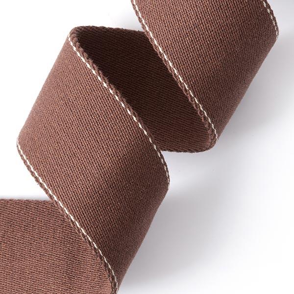 Sangle de sac recyclée - marron