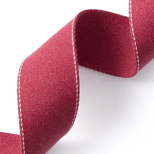 Sangle de sac recyclée - rouge