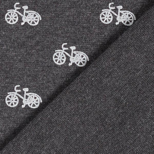 Bord-côtes coton Vélos – anthracite