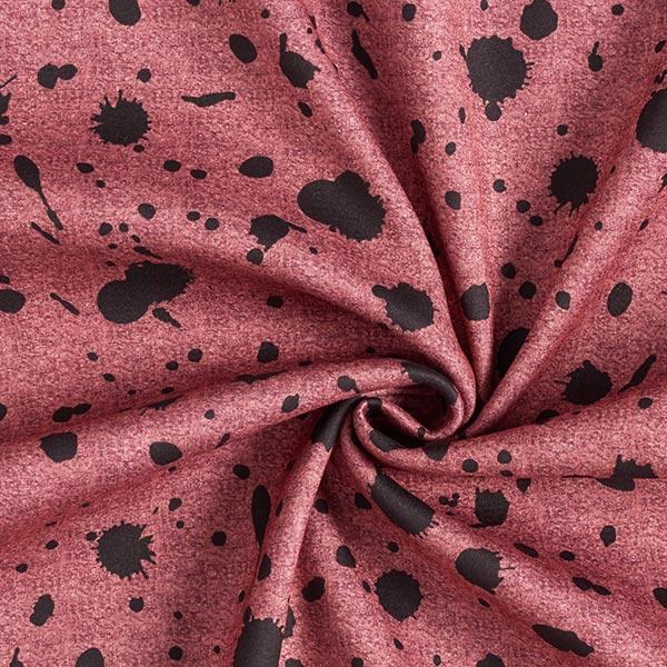 Polaire alpin Taches colorées – rouge rouille