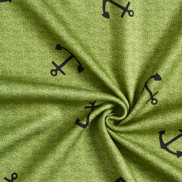 Alpenfleece Anker – apfelgrün