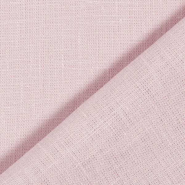 Tissu en lin – vieux rose
