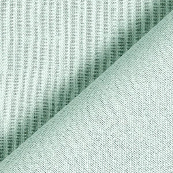 Leinenstoff Uni – mintgrün