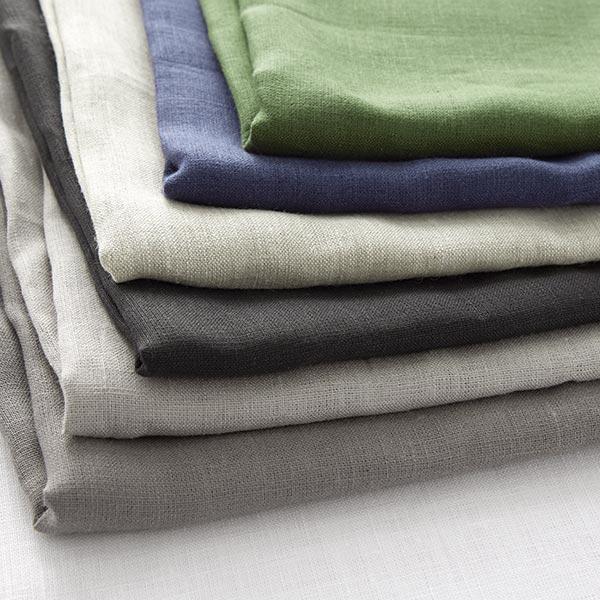 Tissu en lin – gris clair