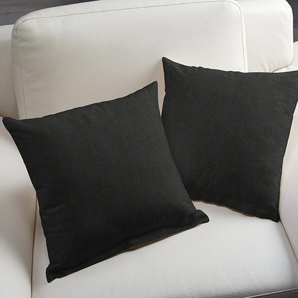 Tissu en lin – noir