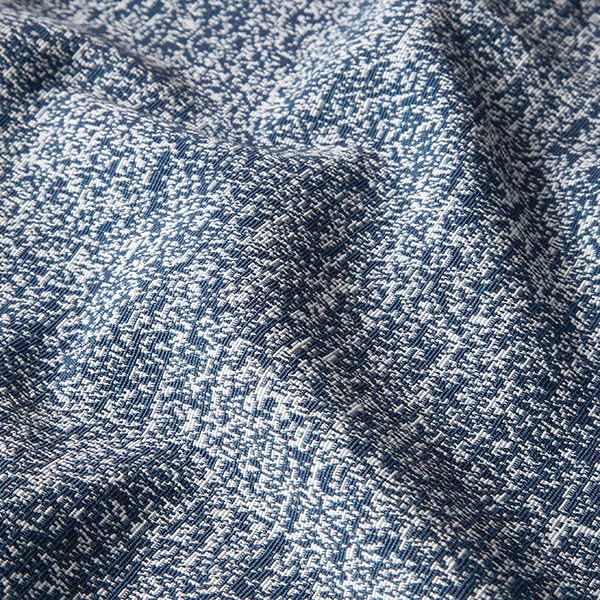 Tissu de décoration Jacquard Pixel – bleu