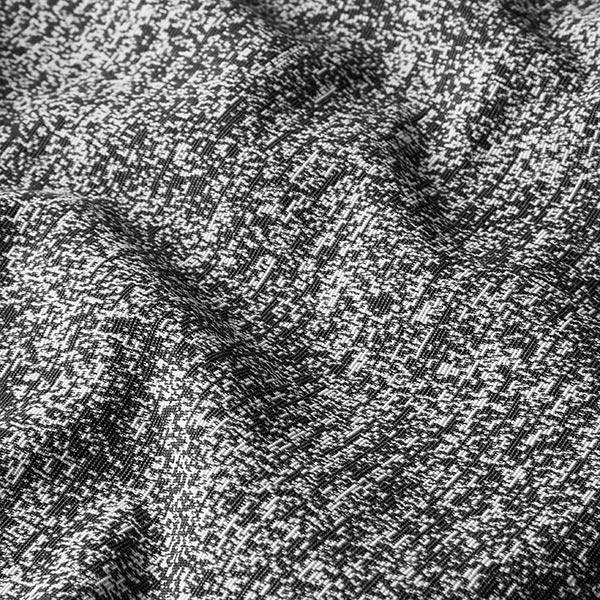 Tissu de décoration Jacquard Pixel – noir